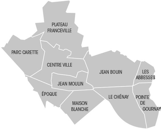 Vie des quartiers , Ville de Gagny