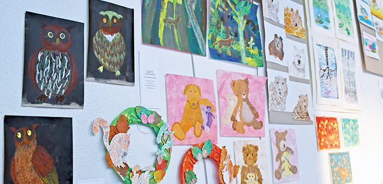 Exposition des enfants au Conservatoire